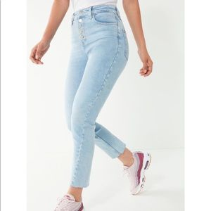 BDG girlfriend high rise jean